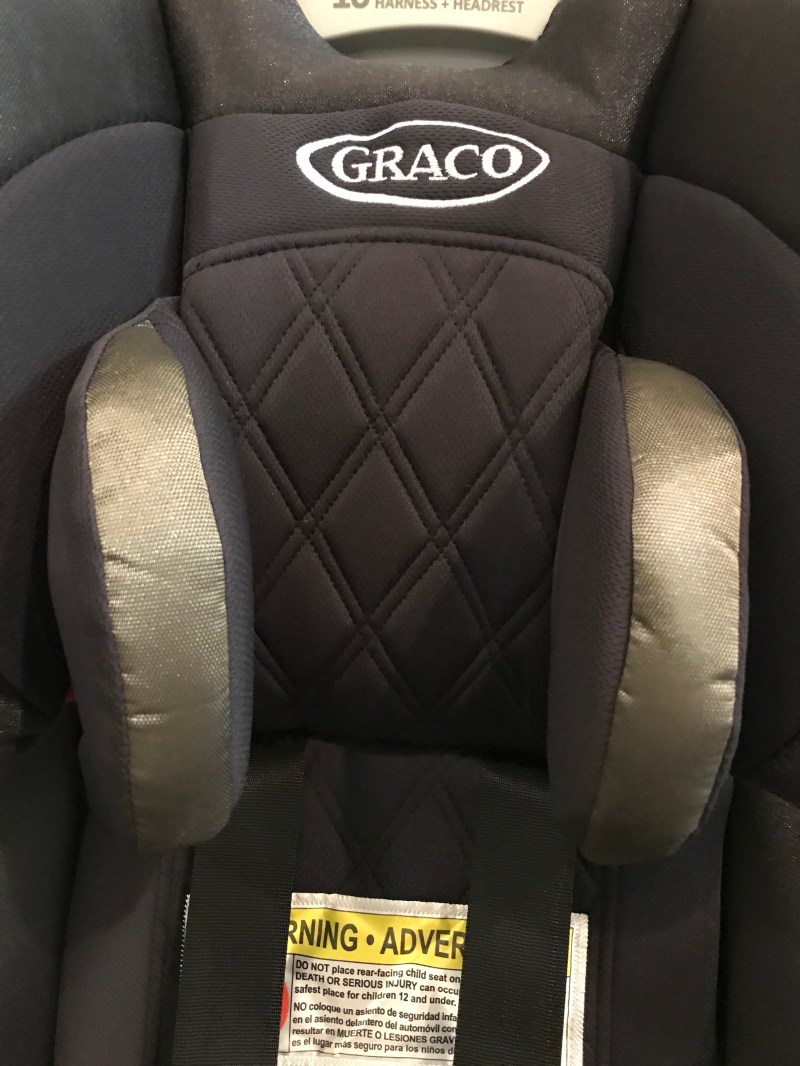 Graco Ottlie 4Ever Extend2Fit Platinum All-in-One Convertible Car Seat