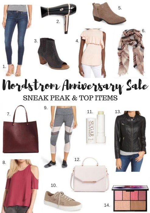 SNEAK PEAK of the Norstrom Anniversary Sale by FL fashion blogger Absolutely Annie