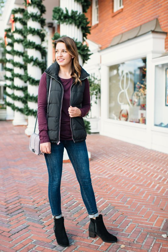 Casual Winter Look with Cougar Shoes by Florida fashion blogger Absolutely Annie