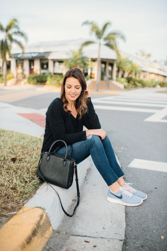 Casual Outfit by popular Florida fashion blogger Absolutely Annie