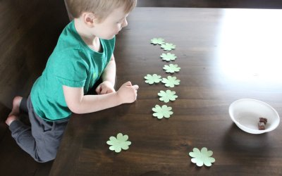 St Patrick's Day Four Leaf Clover Activities