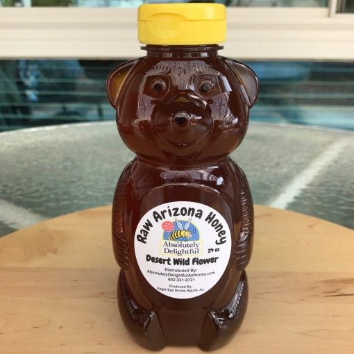 24oz Squeezable Honey Bear