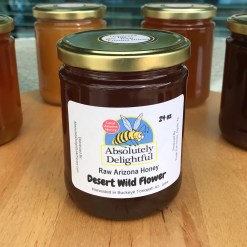 24oz Desert Wild Flower Honey