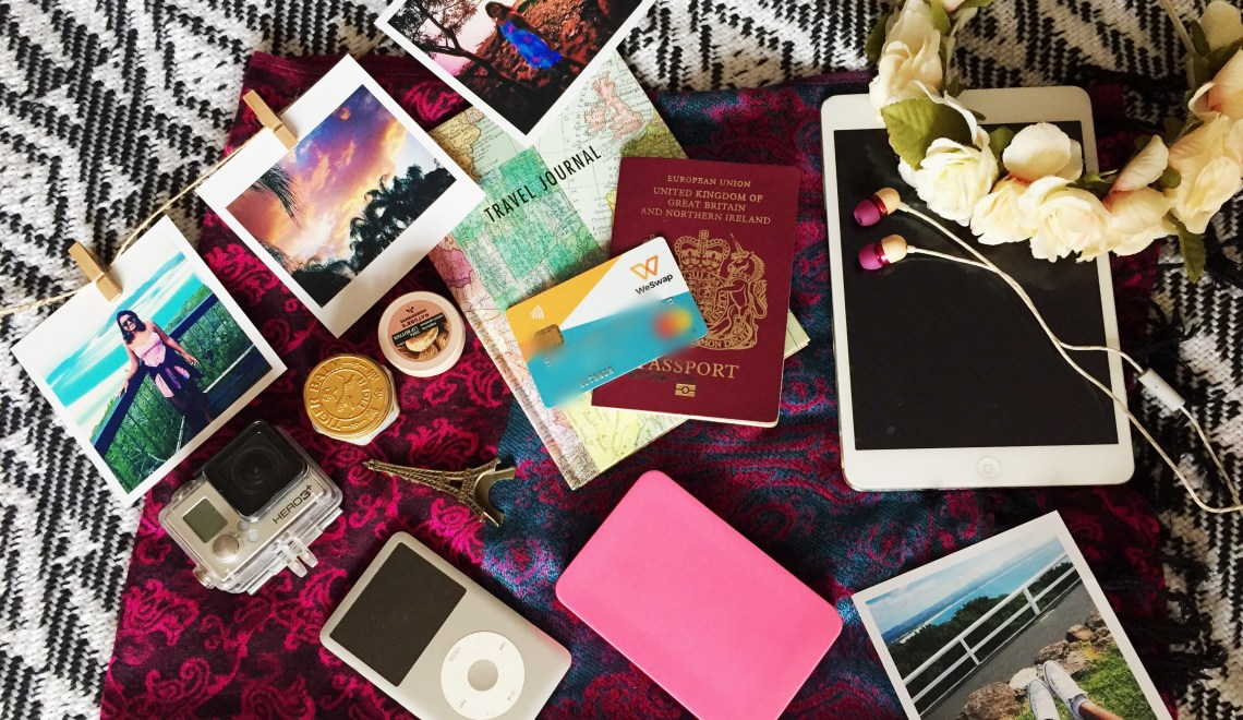Unpack My Bag: Talking travel essentials with WeSwap