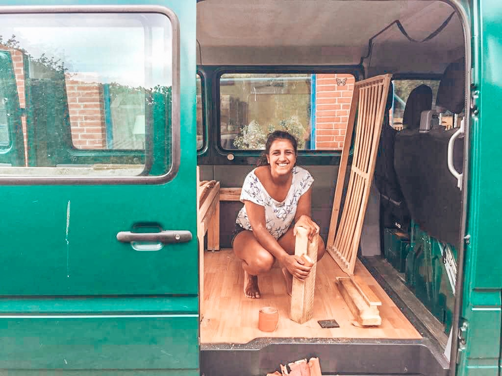 #VANLIFE 1 | Converting our van into the road trip camper of dreams!