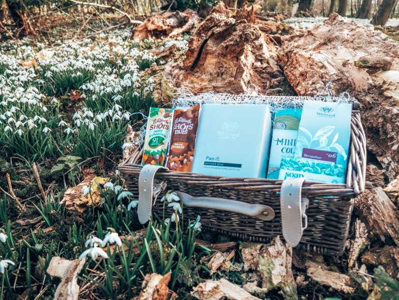 Wellbeing hamper from Whittards