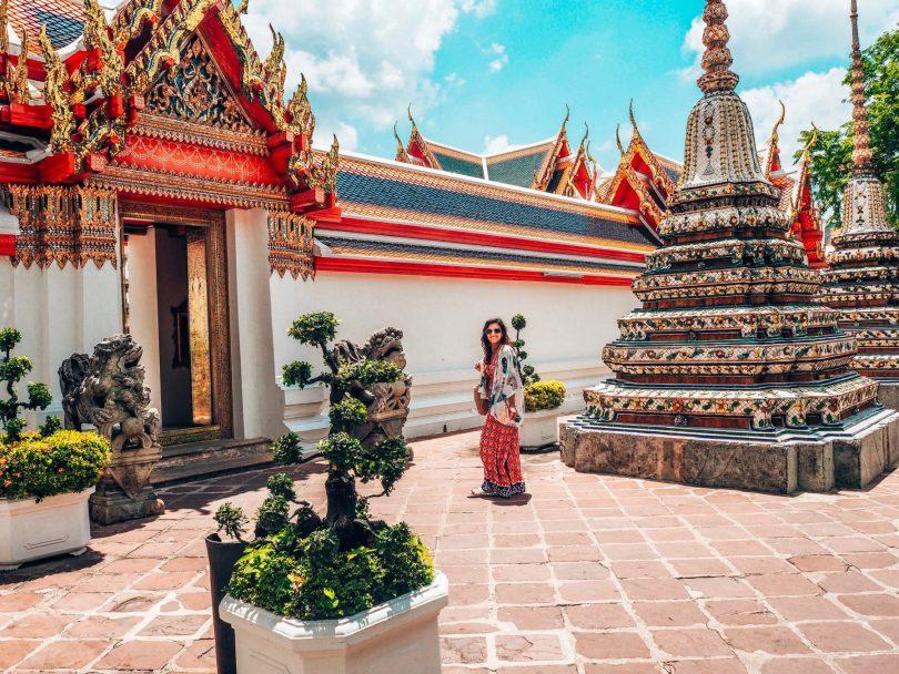 Temple views, Bangkok, Thailand, 2019