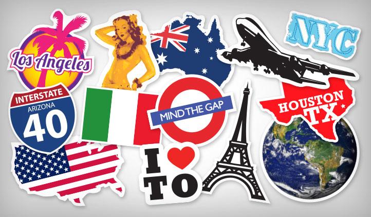 Travel Stickers, StickerYou