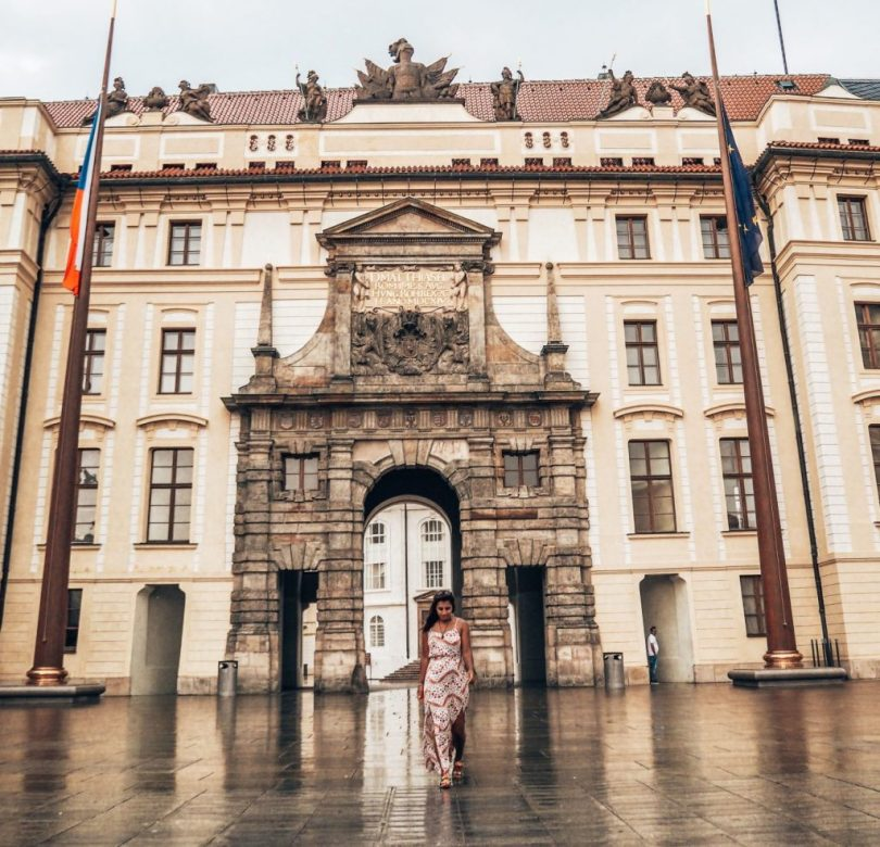 Visiting Prague Castle is one of many great things to do in Prague