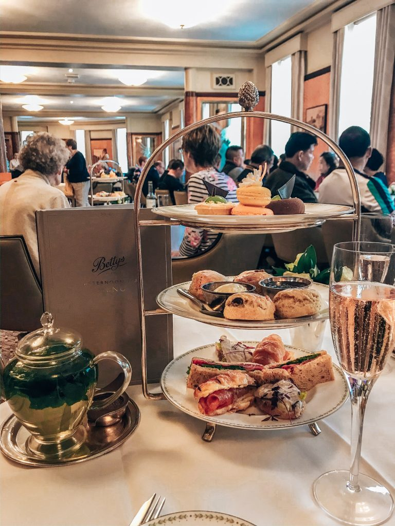 Bettys Champagne Afternoon Tea, York, Gifted