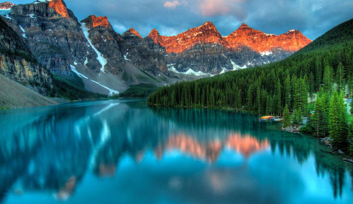 Moraine Lake Sunrise - James Wheeler
