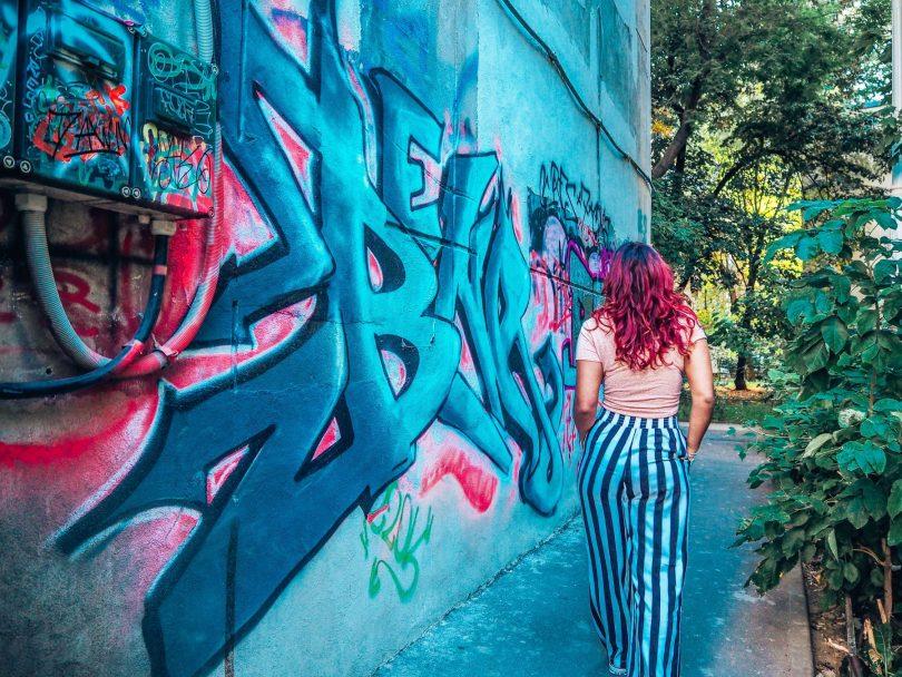 Absolutely Lucy, Street art, Bucharest, Romania