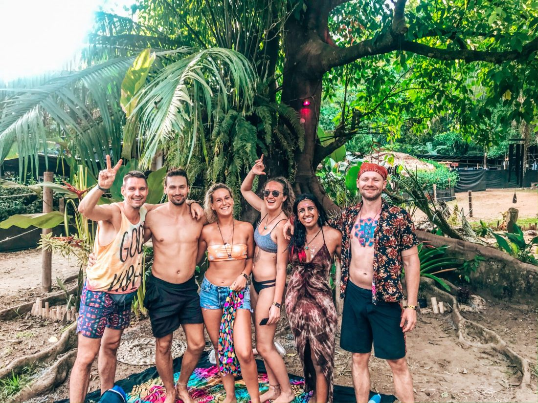Envision Festival crew from hostel