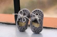 Crotchet boat shoes