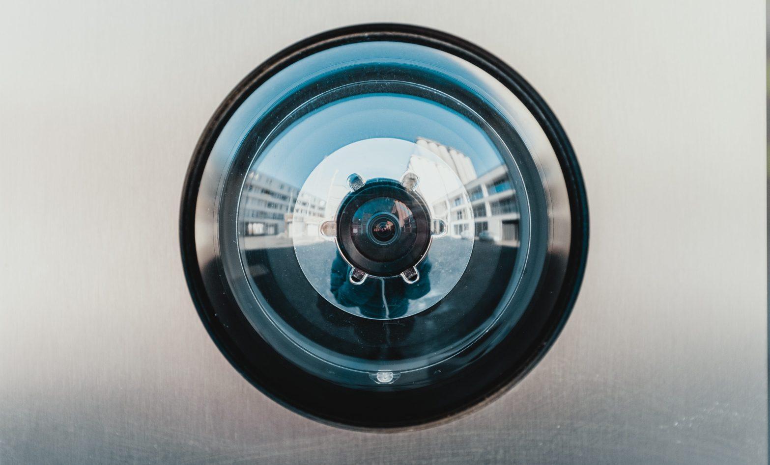 CCTV Camera Fish Eye Photo
