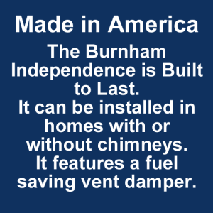 Burnham Independence is made in America