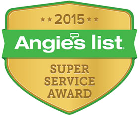 Angies List Super Service Award for 2015