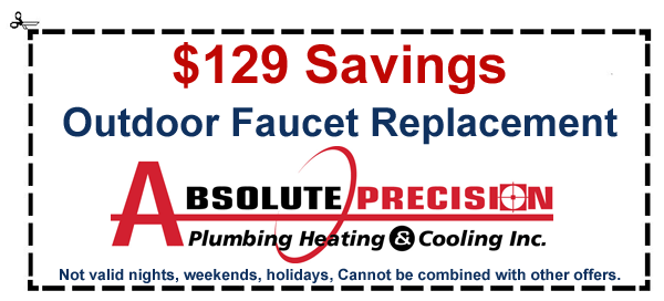 coupon: $129 savings outdoor faucet replacement