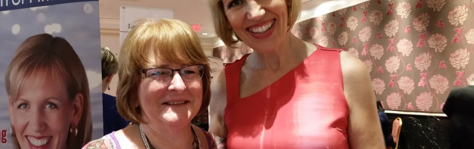 Bebe Kinnett meets Mari Smith (Queen of Facebook)