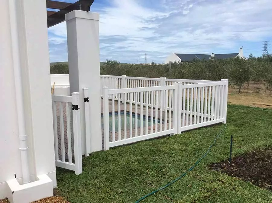 PVC Pool Fencing Absolut Fencing