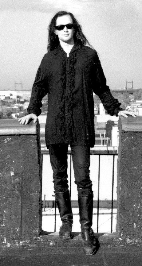 DJ Jason Manic Panic Fashion Shoot 90s