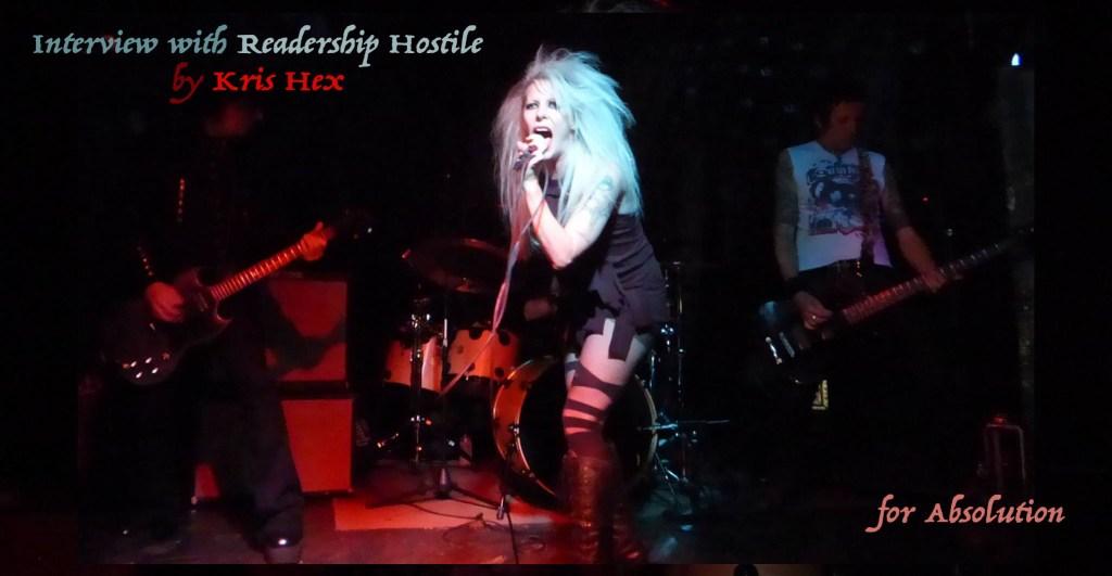 Readership Hostile band interview