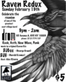 The Raven Cafe Reunion Event