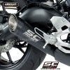 Y22B-C21A70SMB Escape Negro Homologado S1 Titanio Carbono Yamaha Xsr900 Custom Caferacerbarcelona 02