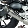 Y22B-C41T Escape Homologado S1 Titanio Carbono Yamaha Xsr900 Custom Caferacerbarcelona 02