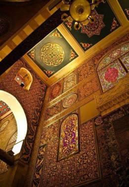 Inside Masjid Al-Aqsa in Jerusalem <3
