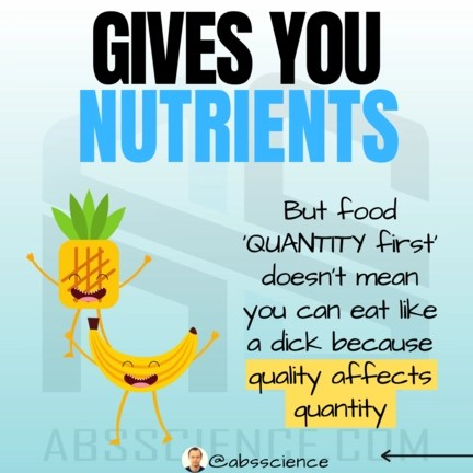 This is the picture of the third staple for effective nutrition for weight loss - nutrient-dense