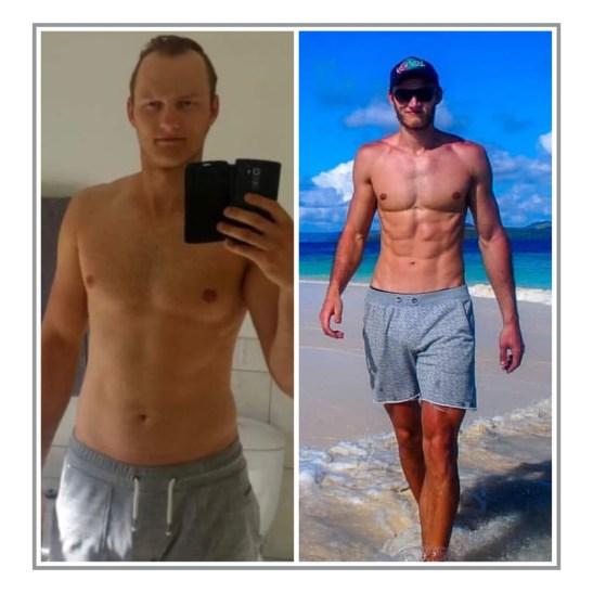 My muscle gain progress