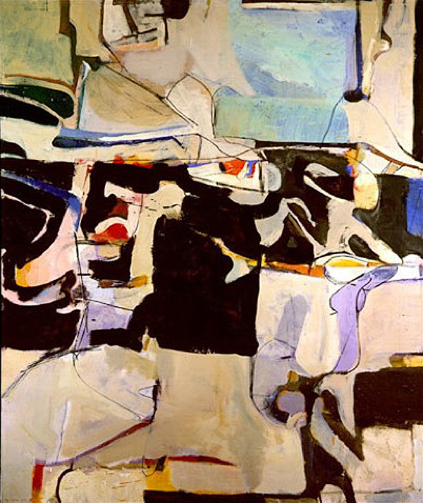 Richard Diebenkorn 'Urbana No.6', borrowed from abstractartist.org