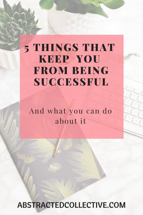 We all want to be successful but are constantly held back by various barriers. Here is a list of them and what you can do to overcome them.