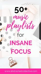 50+ music playlists from spotify, soundcloud and tumblr for insane focus at work
