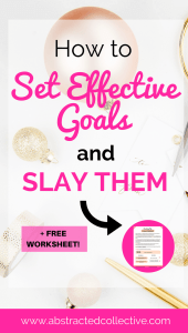 Do you know how to set effective goals in life. Deep-dive into the 5 key psychological principles behind effective goal setting. Download the free goal setting worksheet to gain more clarity with your goals today!