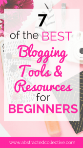 7 free blogging tools for beginners and 7 resources for beginner bloggers. Use these to start your blog today! Also 2 of the best blogging resources that offer you the best blogging tips just for you to start your blog. Affiliate marketing tips, Pinterest tips, social media tips, how to start a blog tips and so much more!