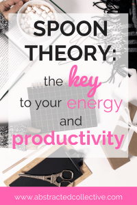 Always feeling low on energy, tired and unable to accomplish things on your to-do list? As a result your productivity and time management is affected? You could be getting your energy levels wrong. Enter the Spoon Theory.