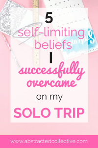 Another great thing about solo travels? It's one of the best times to confront all of your fears and self-limiting beliefs. Here's how I overcame my top 5 fears on my recent solo trip!
