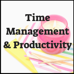 How do I better manage my time? How do I be more productive at work and in life? Posts here will help you
