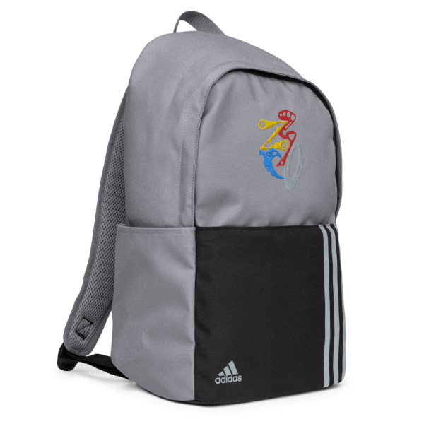 adidas backpack grey right front 61612094a5e26