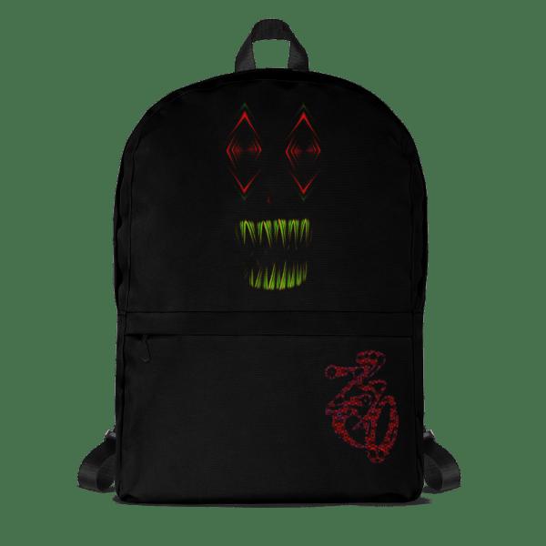 all over print backpack white front 61611ff80efef