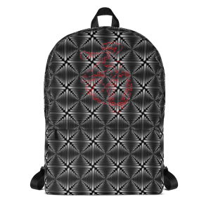 all over print backpack white front 616172b37a2ef