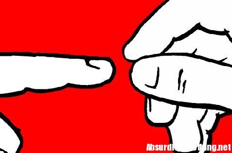 tirami il dito