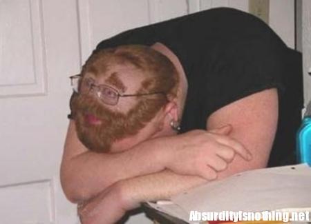 Illusione faccia - Come dormire durante le lezioni