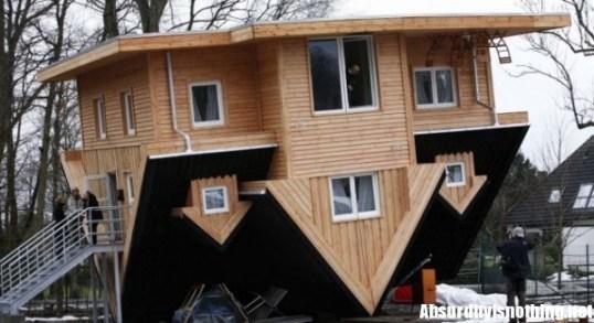 La casa al contrario si trova in Germania