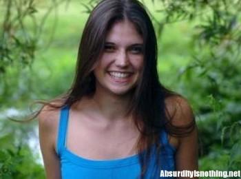 Kay Underwood - la ragazza che collassa quando ride