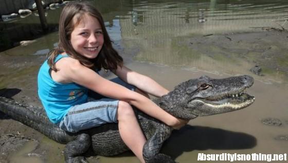 Samantha Young - Wrestling Alligator