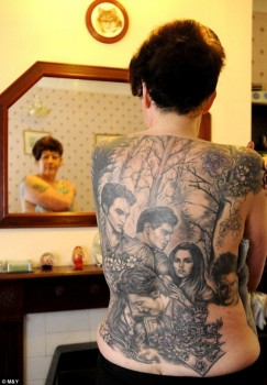 Cathy Ward tatuaggio di Twilight