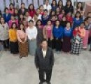 Ziona Chana e la sua numerosissima famiglia (2)